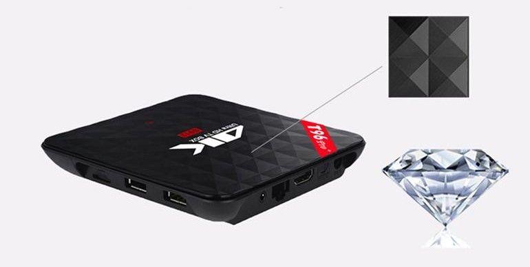 Tv box t96 plus