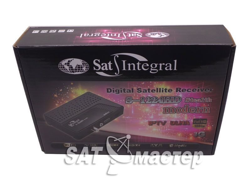 Sat Integral S-1224HD Stealth