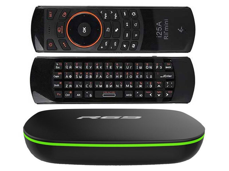 Sunvell R69 TV Box 2/16 + Rii i25A Air Mouse Keyboard