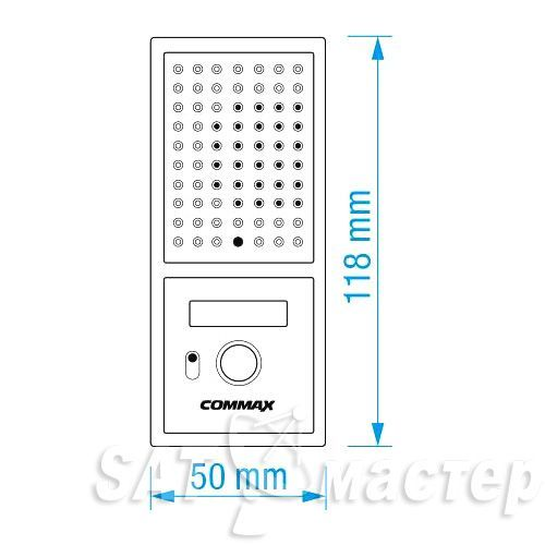 satmaster Commax DRC-4CPN2