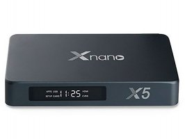 Xnano X5 TV BOX RTD1295