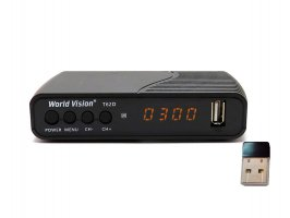 World Vision T62D + WiFi 5370 NANO