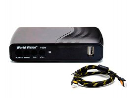 World Vision T62D + HDMI