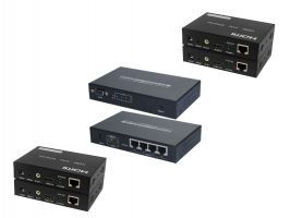 HDMI Extender Static IP Ethernet (150m) with IR ST-DT104A IR